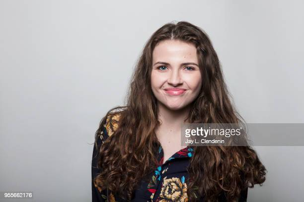 Author Kayla Rae Whitaker is photographed for Los Angeles Times on April 21 2018 in the LA Times Studio at the Los Angeles Times Festival of Books at...