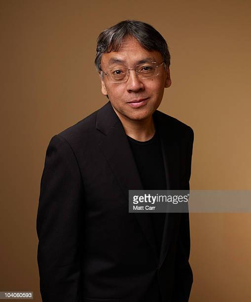 Author Kazuo Ishiguro from 'Never Let Me Go' poses for a portrait during the 2010 Toronto International Film Festival in Guess Portrait Studio at...