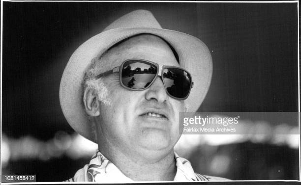 Author Ken Kesey at the Adelaide Festival Centre March 7 1986