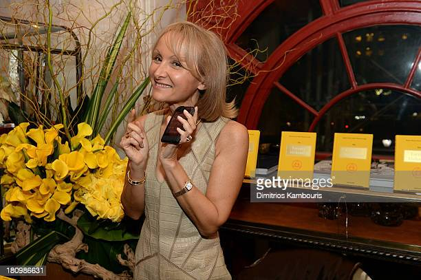 Author Ketty PucciSisti Maisonrouge attends ASSOULINE Martine and Prosper Assouline host a book signing for Ketty PucciSisti Maisonrouge's The Luxury...