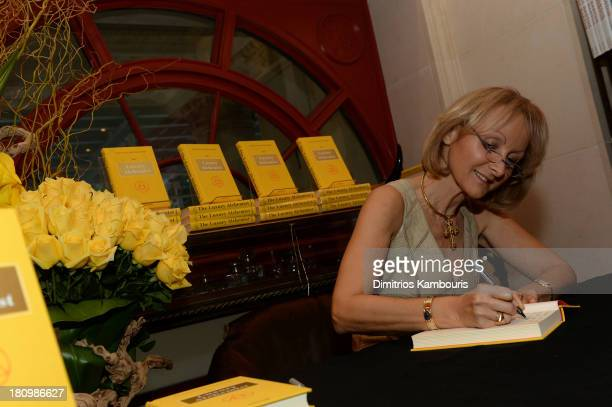 Author Ketty PucciSisti Maisonrouge signs her book at ASSOULINE Martine and Prosper Assouline host a book signing for Ketty PucciSisti Maisonrouge's...