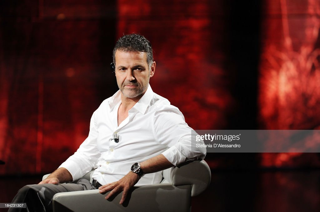 Author Khaled Hosseini attends 'Che Tempo Che Fa' TV Show on October 12, 2013 in Milan, Italy.