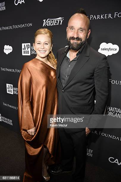 Author Kimberly Muller and photographer Michael Muller attend the 6th Annual Sean Penn Friends HAITI RISING Gala Benefiting J/P Haitian Relief...