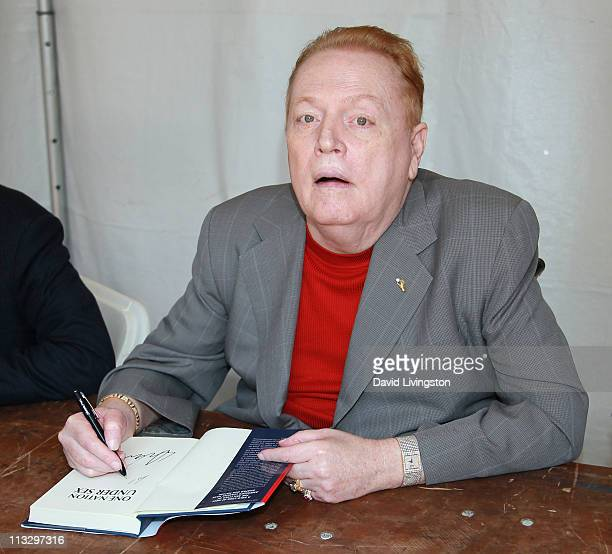 Author Larry Flynt attends the 16th Annual Los Angeles Times Festival of Books - Day 1 at USC on April 30, 2011 in Los Angeles, California.