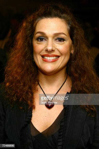 Author Laura Mercier arrives for the book launch party for new book titled The New Beauty Secrets Your Ultimate Guide to a Flawless Face at Bergdorf...