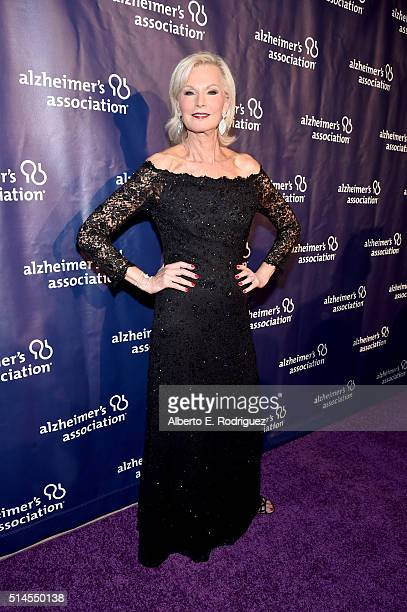 """Author Laurie Burrows attends the 24th and final """"A Night at Sardi's"""" to benefit the Alzheimer's Association at The Beverly Hilton Hotel on March 9,..."""