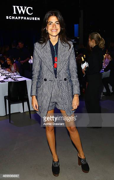 Author Leandra Medine attends the IWC Schaffhausen Third Annual 'For the Love of Cinema' Gala during the Tribeca Film Festival on April 16 2015 in...