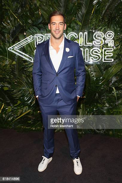 Author Lewis Howes attends the Pencils of Promise 6th Annual Gala A World Imagined at Cipriani Wall Street on October 26 2016 in New York City