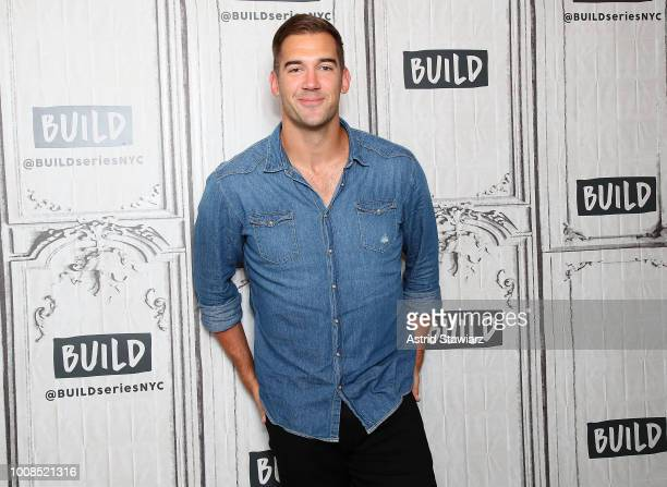 Author Lewis Howes visits the Build Studio on July 31 2018 in New York City