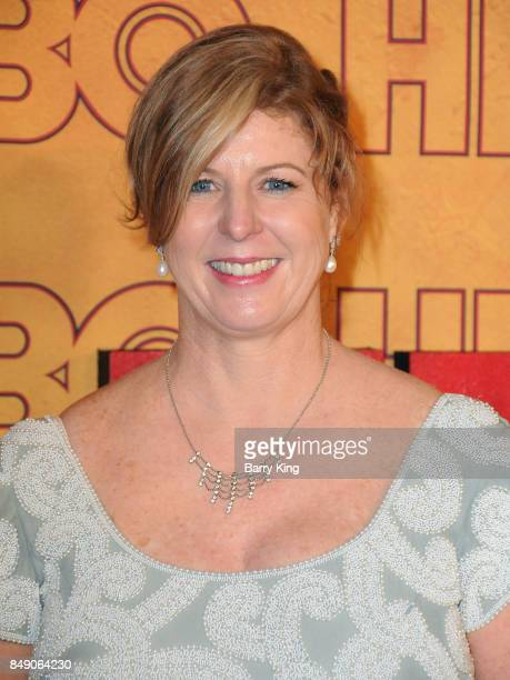 Author Liane Moriarty attends HBO's Post Emmy Awards Reception at The Plaza at the Pacific Design Center on September 17 2017 in Los Angeles...