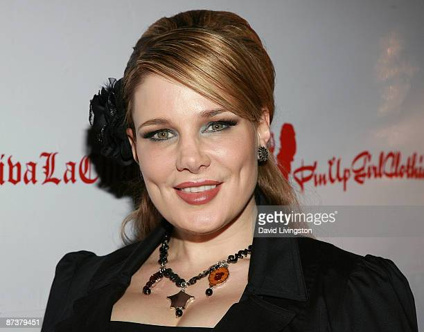 Author Lily Burana attends the Operation Bombshell benefit event at Trader Vic's on May 15 2009 in Los Angeles California