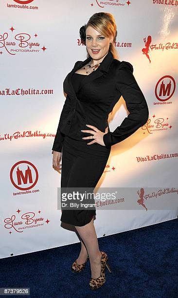 Author Lily Burana attends the Operation Bombshell benefit event at Trader Vic's At LA Live on May 15 2009 in Los Angeles California