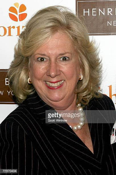 Author Linda Fairstein arrives for the Red Hot Night Benefit hosted by Safe Horizon's Junior Council at Henri Bendel on November 02 2006 in New York...