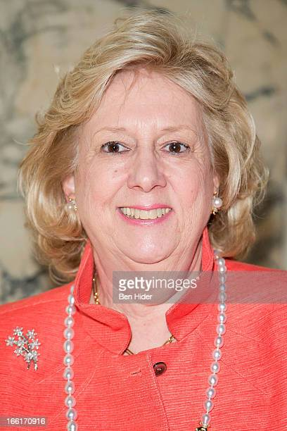 Author Linda Fairstein attends the 10th Annual Authors In Kind God's Love We Deliver Literary Luncheon at The Metropolitan Club on April 9 2013 in...