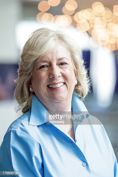 Author Linda Fairstein poses for a portrait in New York US on Tuesday July 9 2013 The former chief of the sex crimes unit of the Manhattan District...