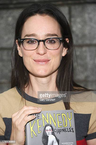 Author Lisa Kennedy Montgomery attends Word for Word Author 2013 at The Bryant Park Reading Room on August 14 2013 in New York City
