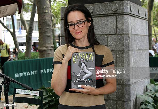 Author Lisa Kennedy Montgomery promotes the book The Kennedy Chronicles The Golden Age of MTV Through RoseColored Glasses during Word for Word Author...