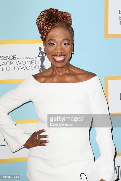 Author Lisa Nichols arrives at the Essence 9th Annual Black Women event in Hollywood at the Beverly Wilshire Four Seasons Hotel on February 25, 2016...