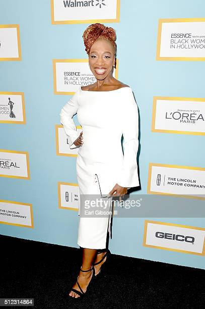 Author Lisa Nichols attends the 2016 ESSENCE Black Women In Hollywood awards luncheon at the Beverly Wilshire Four Seasons Hotel on February 25, 2016...