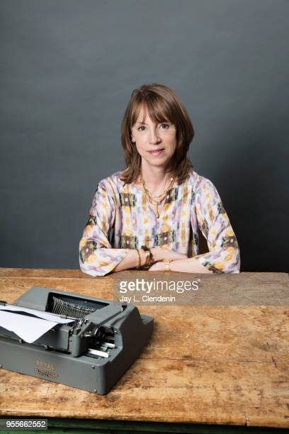 Author Lisa See is photographed for Los Angeles Times on April 21 2018 in the LA Times Studio at the Los Angeles Times Festival of Books at the...