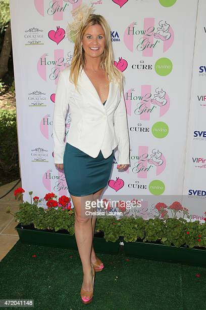 Author Liz Crokin arrives at the 2nd Annual How2Girl Kentucky Derby Ladies Luncheon on May 2 2015 in Westlake Village California