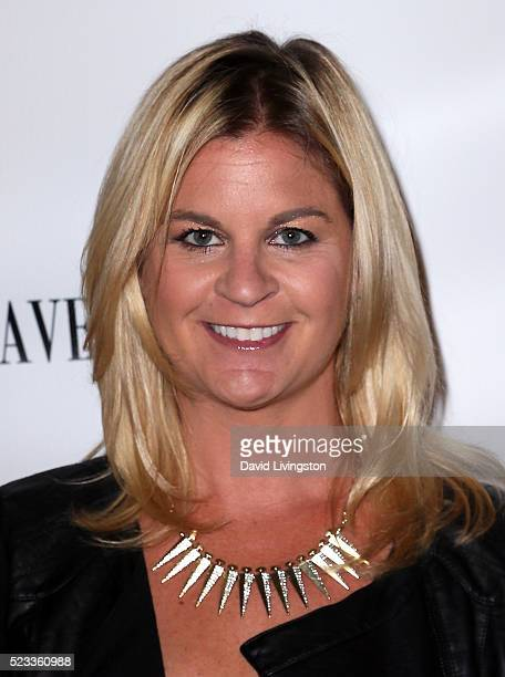 Author Liz Crokin attends Los Angeles Travel Magazine's release of its 2016 spring issue at Andaz West Hollywood on April 22 2016 in West Hollywood...