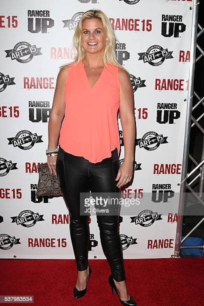 Author Liz Crokin attends the premiere of Street Justice Films' 'Range 15' at the Vista Theatre on June 3 2016 in Los Angeles California