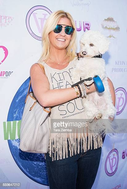 Author Liz Crokin attends World Dog Day Celebration at The City of West Hollywood Park on May 22 2016 in West Hollywood California