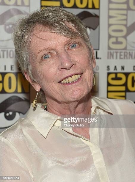 "Author Lois Lowry attends The Weinstein Company Presents ""THE GIVER"" At Comic-Con 2014 at Hilton Bayfront on July 24, 2014 in San Diego, California."