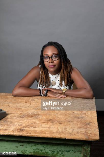 Author Margaret Wilkerson Sexton is photographed for Los Angeles Times on April 21 2018 in the LA Times Studio at the Los Angeles Times Festival of...