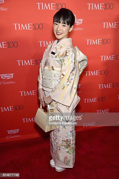 Author Marie Kondo attends 2016 Time 100 Gala Time's Most Influential People In The World red carpet at Jazz At Lincoln Center at the Times Warner...