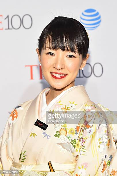Author Marie Kondo attends 2016 Time 100 Gala Time's Most Influential People In The World at Jazz At Lincoln Center at the Times Warner Center on...