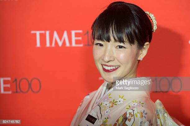 Author Marie Kondo attends the 2016 Time 100 Gala at Frederick P Rose Hall Jazz at Lincoln Center on April 26 2016 in New York City