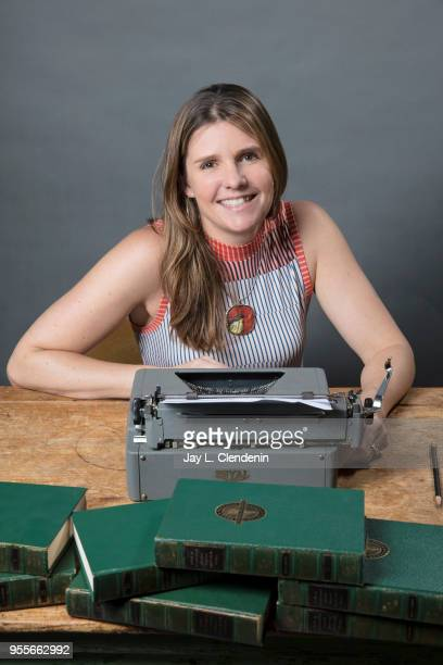 Author Marie Marquardt is photographed for Los Angeles Times on April 21 2018 in the LA Times Studio at the Los Angeles Times Festival of Books at...