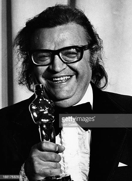 Author Mario Puzo attends 47th Annual Academy Awards on April 8 1975 at the Dorothy Chandler Pavilion in Los Angeles California
