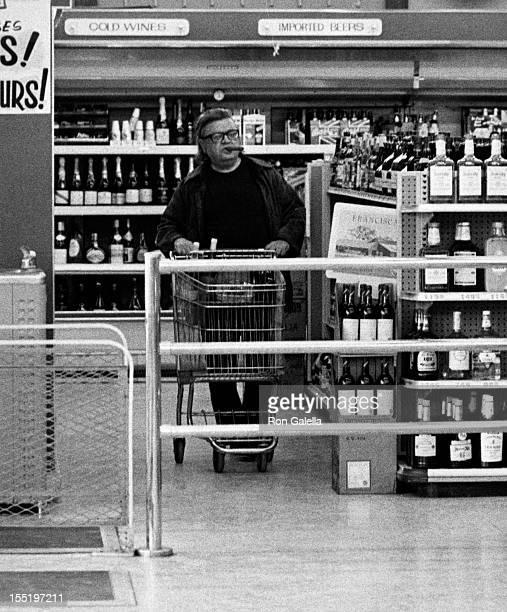 Author Mario Puzo sighted on February 4 1979 at the Malibu Market in Malibu California