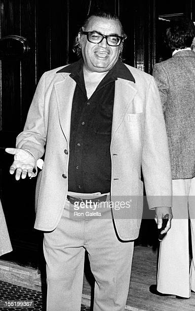 Author Mario Puzo sighted on October 30 1978 at Il Cortille Restaurant in Los Angeles California