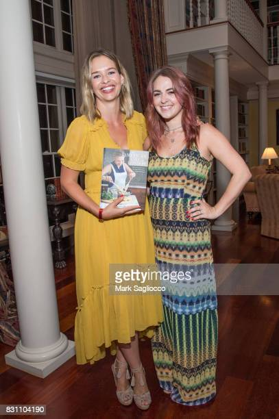 Author Marisa Hermer and Taylor Rose Berry from Harbor Books attend Hamptons Magazine's Private Dinner Celebrating East Hampton Library Authors Night...