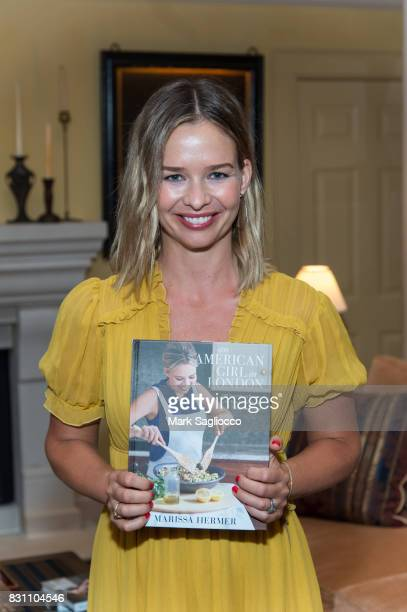 Author Marisa Hermer attends Hamptons Magazine's Private Dinner Celebrating East Hampton Library Authors Nighton August 12 2017 in East Hampton New...