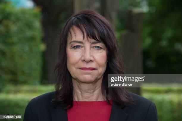 Author Martina Krueger, photographed in Zinnowitz on Usedom island, Germany, 2 August 2016. PHOTO: STEFAN SAUER/dpa   usage worldwide
