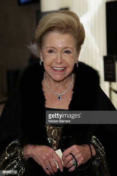 Author Mary Higgins Clark attends Literacy Partners 26th annual Evening of Readings gala at the David H Koch Theater Lincoln Center on May 10 2010 in...