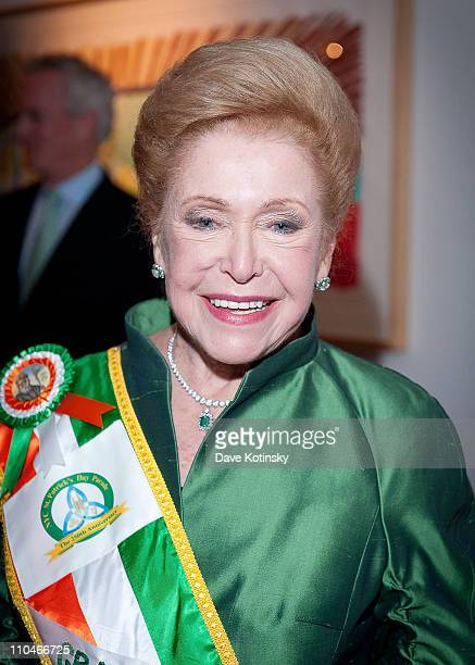 Author Mary Higgins Clark attends the 7th Annual Kelly Gang St Patrick's Day benefit at Michael's Restaurant on March 17 2011 in New York City