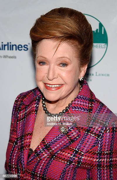 Author Mary Higgins Clark attends the CitymealsOnWheels 19th annual Power Lunch for Women November 18 2005 in New York City