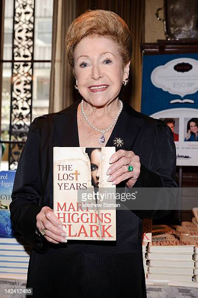 Author Mary Higgins Clark attends the Salvation Army's Book Club Luncheon at Club 21 on April 4 2012 in New York City