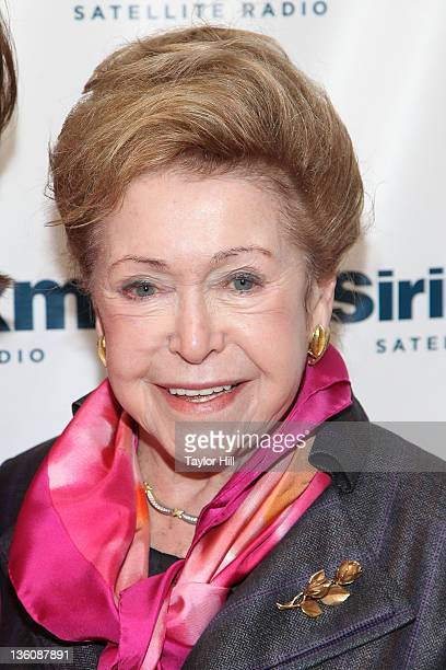 Author Mary Higgins Clark visits the SiriusXM Studio on December 19 2011 in New York City