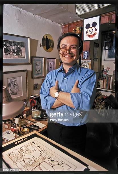 Author Maurice Sendak is photographed for New York Times Magazine in May 1970 in Danbury Connecticut