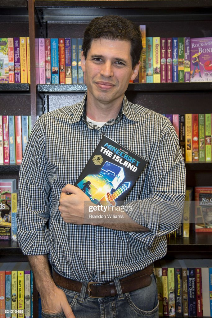 "Max Brooks Book Signing For ""Minecraft: The Island"""