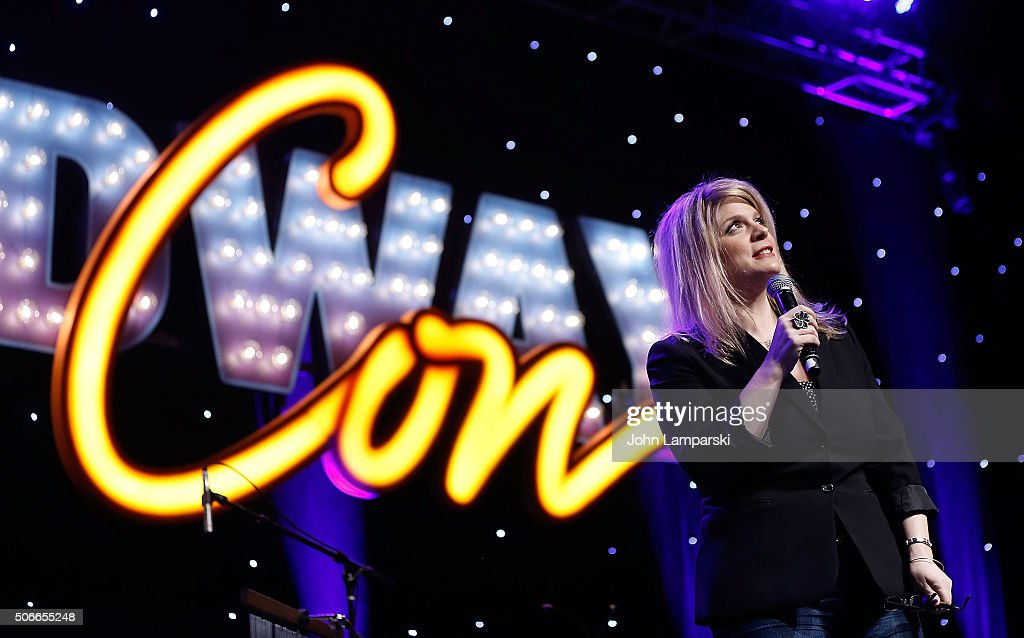 Author Melissa Anelli attends BroadwayCon 2016 on January 24, 2016 in New York City.