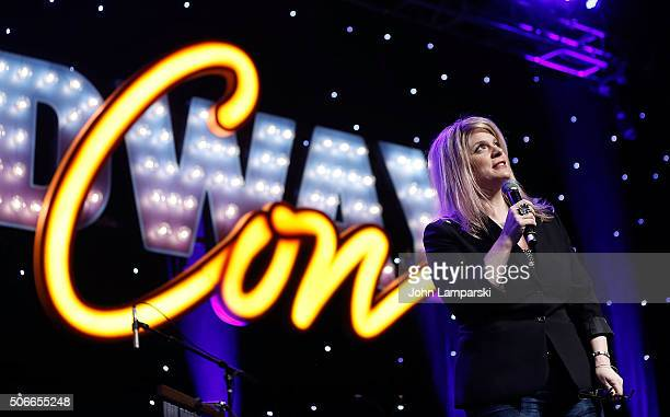 Author Melissa Anelli attends BroadwayCon 2016 on January 24 2016 in New York City