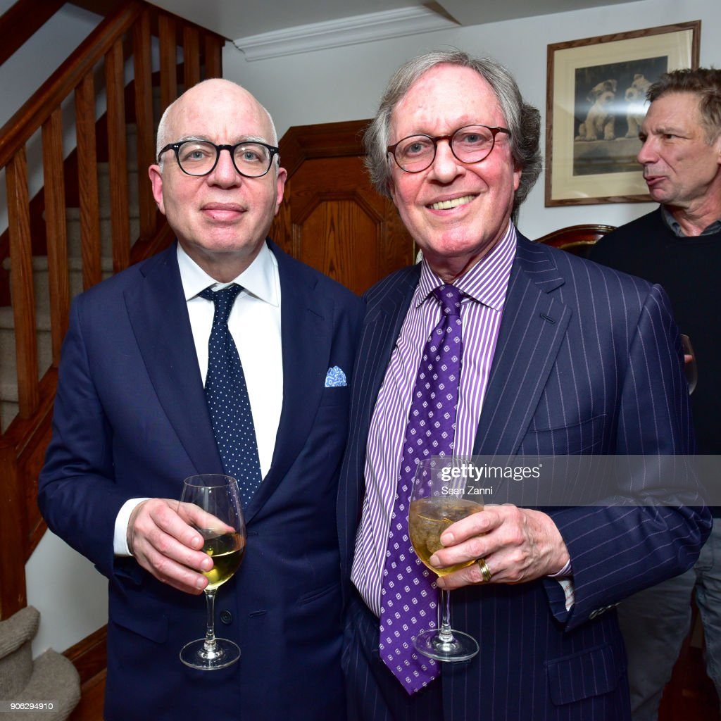 "Publisher Henry Holt Toasts Michael Wolff's ""Fire and Fury"""